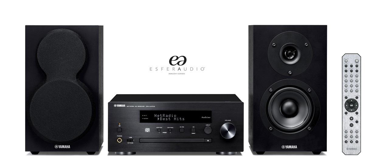 yamaha mcr n470d esfera audio tienda imagen y sonido. Black Bedroom Furniture Sets. Home Design Ideas