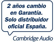 Garantia Cambridge audio